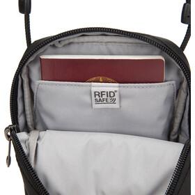 Pacsafe RFIDsafe Bolso Cruzado Mujer, negro